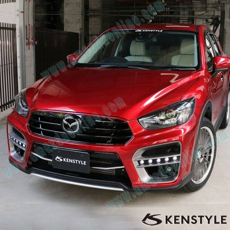 Kenstyle eik front bumper with grill cover aero kit include led kenstyle eik front bumper with grill cover aero kit include led daytime running light bar for aloadofball Image collections