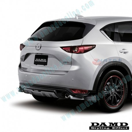 damd rear diffuser spoiler for 2017 cx 5 kf a mazda. Black Bedroom Furniture Sets. Home Design Ideas