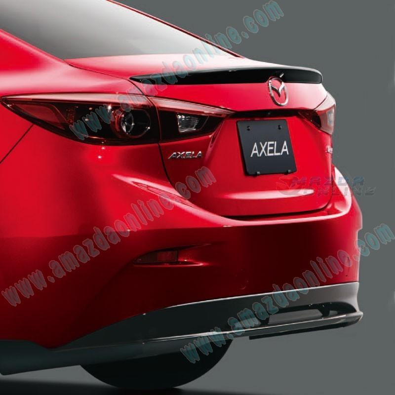 Mazda 3 Mazdaspeed For Sale: 13-16 Mazda3 [BM] Sedan MazdaSpeed Rear