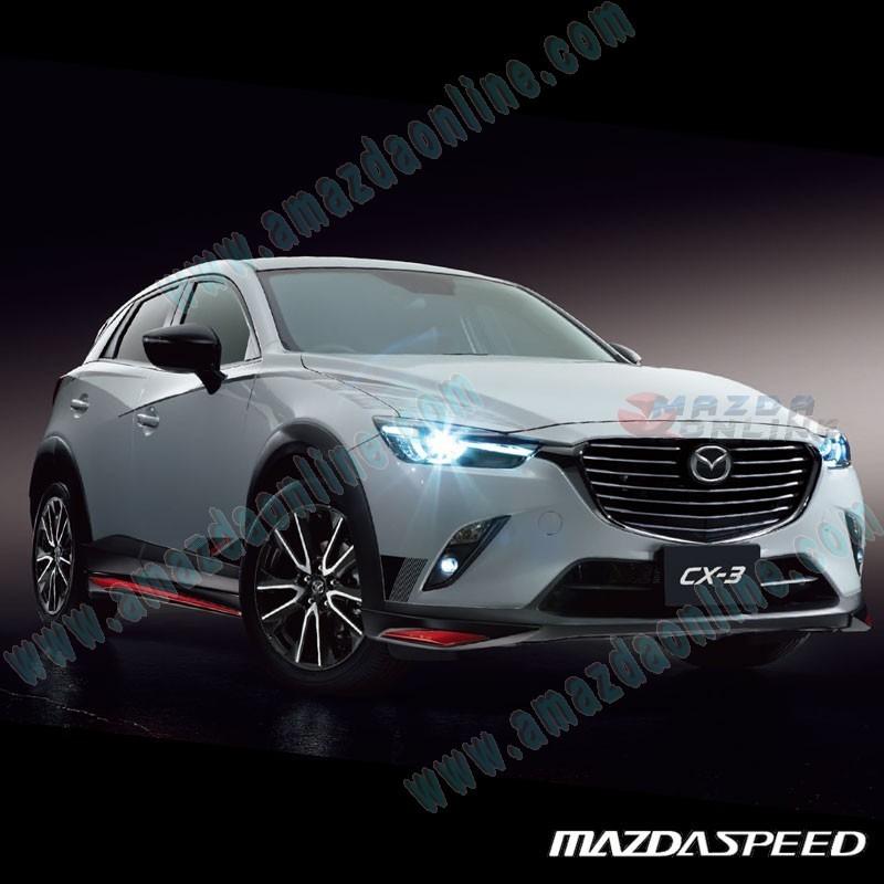 Mazda 3 Mazdaspeed For Sale: MazdaSpeed Side Skirt Extension Splitters For 2015+ CX-3