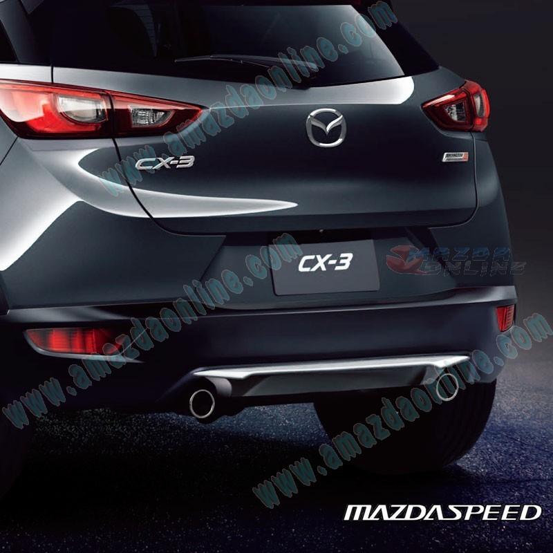 Mazda 3 Mazdaspeed For Sale: MazdaSpeed Rear Bumper Diffuser Spoiler Package For 2015