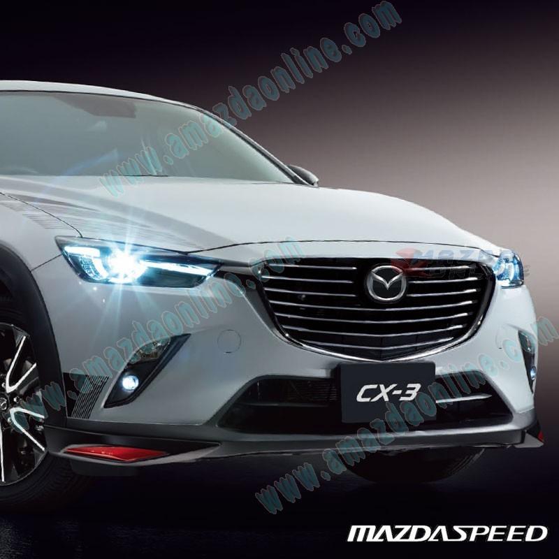 Mazda 3 Mazdaspeed For Sale: MazdaSpeed Front Bumper Lip Spoiler For 2015+ CX-3 [DK
