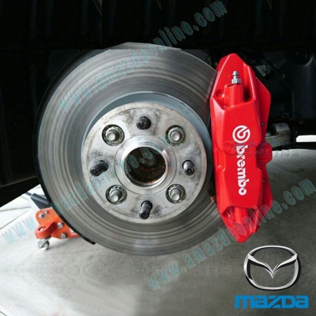 Brembo Brake Kit >> Brembo Four Piston Brake Caliper [Front] for 2016+ Miata [ND] | A Mazda Online Eshop